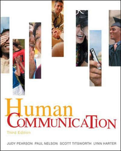 9780073385013: Human Communication