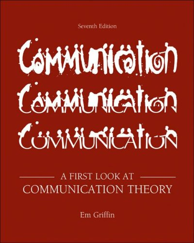 9780073385020: A First Look at Communication Theory