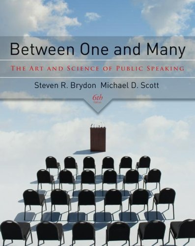 9780073385037: Between One and Many: The Art and Science of Public Speaking