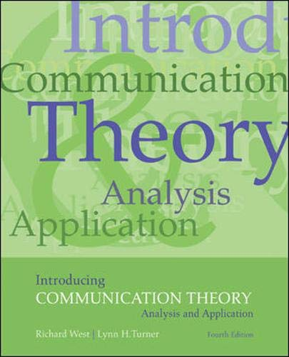 9780073385075: Introducing  Communication Theory: Analysis and Application
