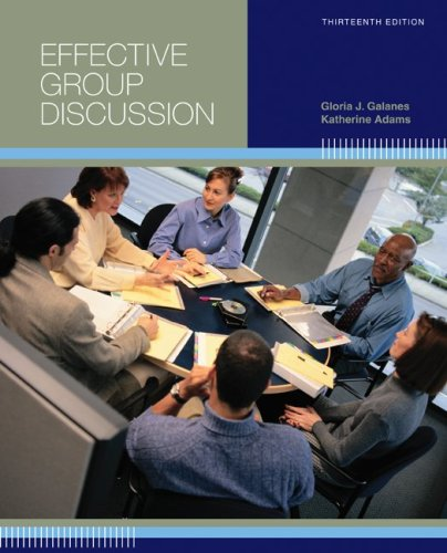 9780073385143: Effective Group Discussion: Theory and Practice