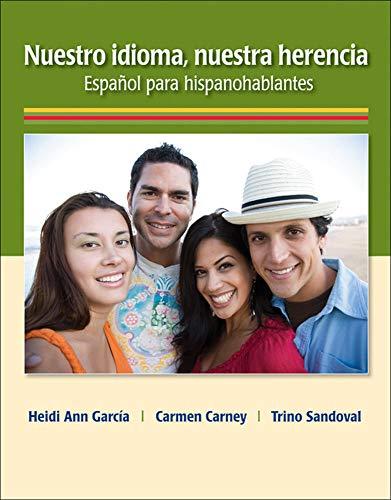 9780073385266: Nuestro idioma, nuestra herencia (Spanish)