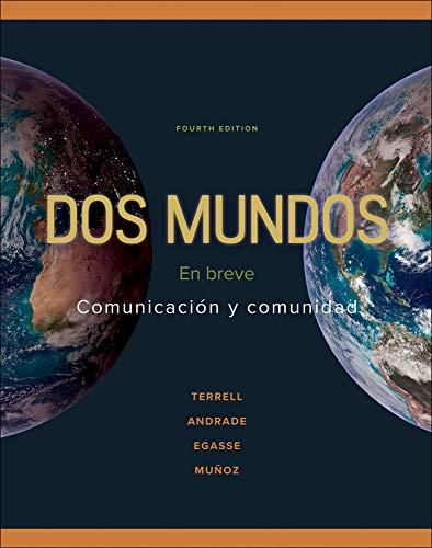 9780073385327: Dos Mundos: En Breve: Comunicacion y Comunidad