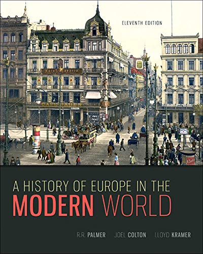 9780073385549: A History of Europe in the Modern World