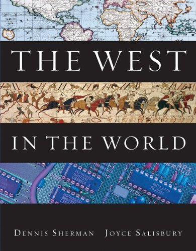 9780073385655: The West in the World