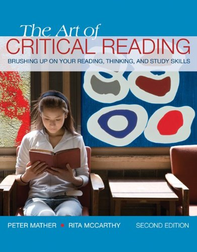 9780073385693: The Art of Critical Reading