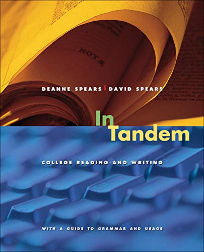 9780073385709: In Tandem: College Reading and Writing