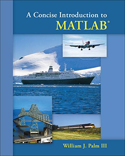 9780073385839: A Concise Introduction to Matlab