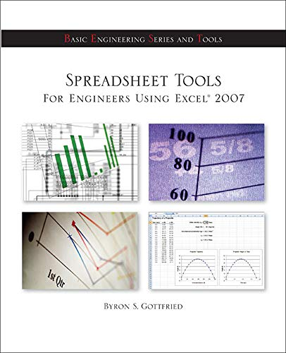 9780073385860: Spreadsheet Tools for Engineers Using Excel ® 2007 (General Engineering)