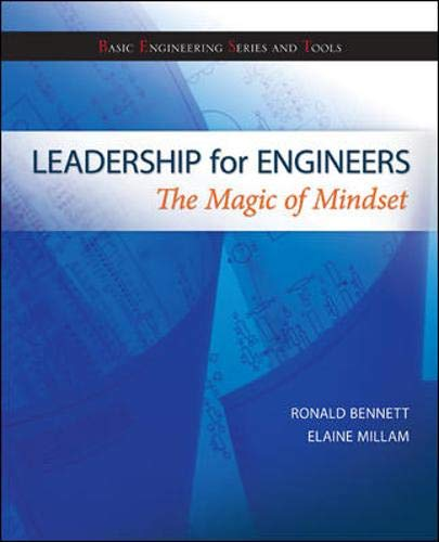 9780073385938: Leadership for Engineers: The Magic of Mindset (Basic Engineering Series and Tools)