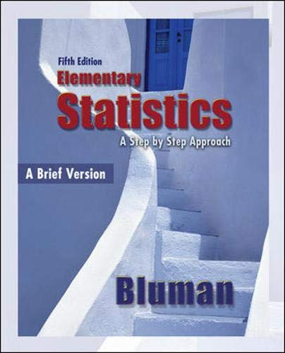 9780073386096: Elementary Statistics: A Brief Version