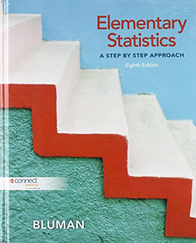 9780073386102: Elementary Statistics A Step by Step Approach