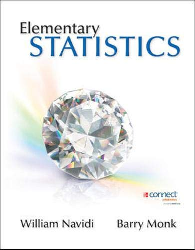 Elementary Statistics: Navidi Prof, William;