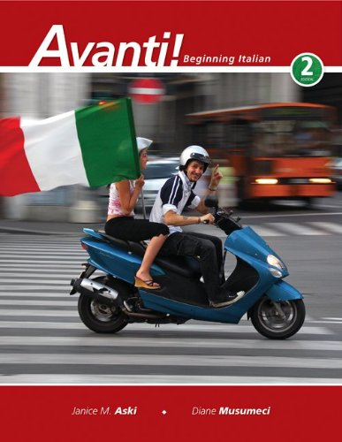 9780073386249: Avanti!: Beginning Italian