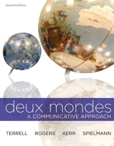 9780073386454: Deux mondes (Student Edition)Rental Book