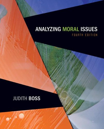 9780073386638: Analyzing Moral Issues