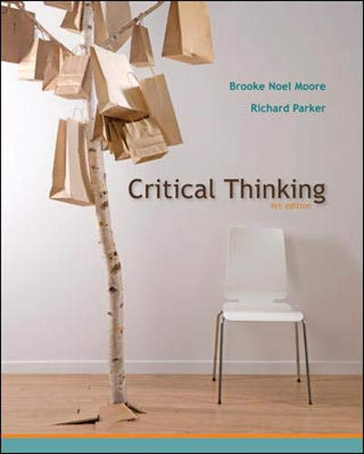 9780073386676: Critical Thinking, Ninth Edition