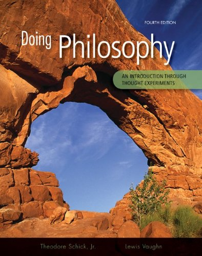 9780073386683: Doing Philosophy: An Introduction Through Thought Experiments