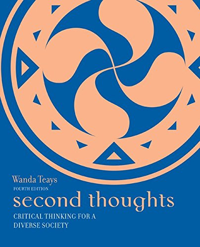 9780073386706: Second Thoughts: Critical Thinking for a Diverse Society