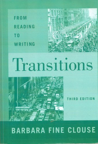 9780073387000: Transitions: From Reading to Writing