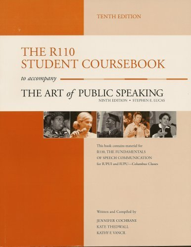 9780073388021: The R110 Student Coursebook to accompany The Art of Public Speaking
