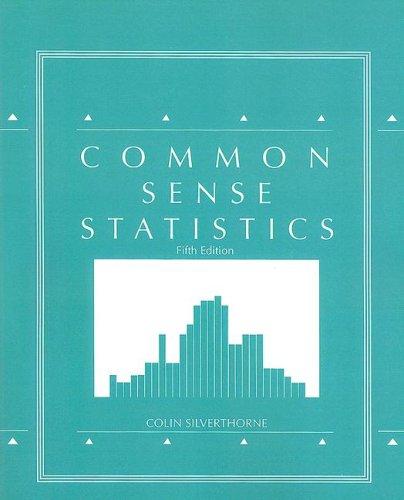 9780073388335: Common Sense Statistics