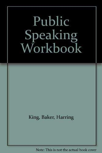 9780073388366: Public Speaking Workbook
