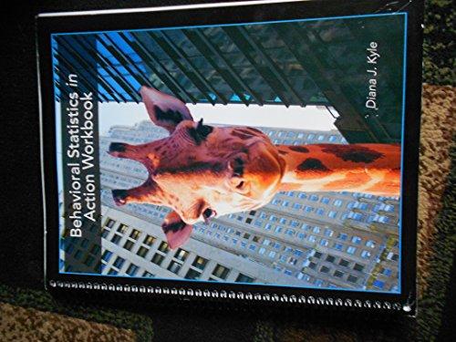 9780073388700: Behavioral Statistics in Action Workbook