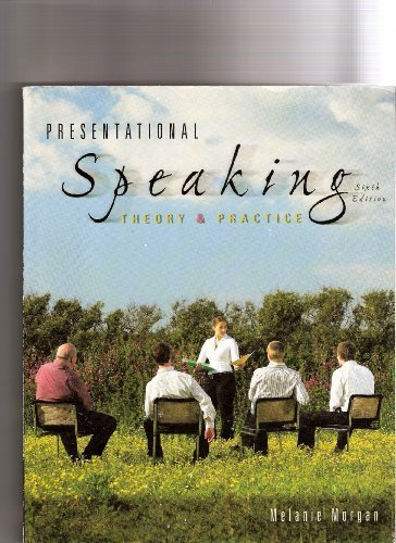 9780073389189: Presentational Speaking Theory & Practice