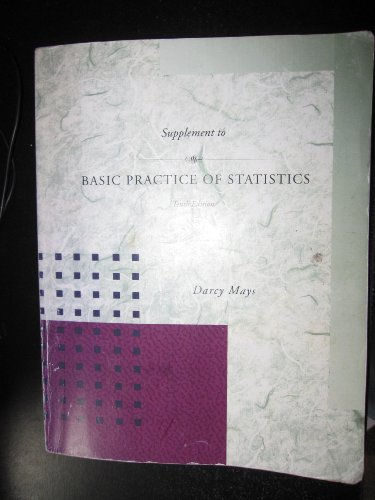 9780073389523: Supplement to Basic Practice of Statistics, Tenth Edition