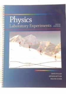 9780073390574: Physics - Laboratory Experiments, 6th Ed.
