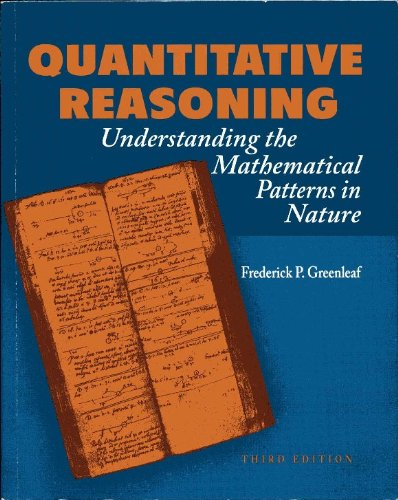 9780073390659: Quantitative Reasoning: Understanding the Mathematical Patterns in Nature