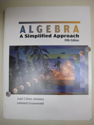 9780073391601: Algebra a Simplified Approach