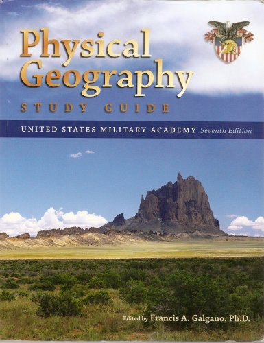 9780073392691: Physical Geography Study Guide; United States Military Academy 7th Edition