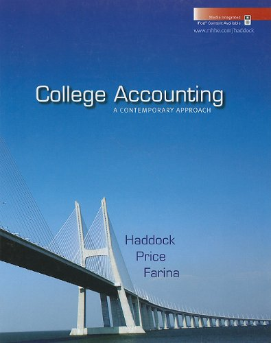 9780073396941: College Accounting: A Contemporary Approach