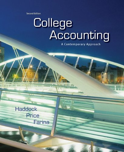 9780073396958: College Accounting: A Contemporary Approach