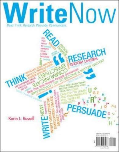 9780073397078: Write Now