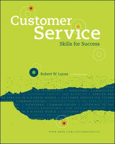 9780073397115: Customer Service Skills for Success
