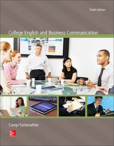 9780073397122: College English and Business Communication