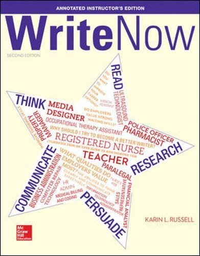 9780073397139: Write Now Annotated Instructor's Edition
