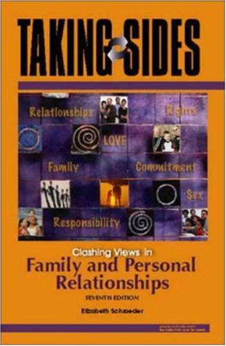 9780073397146: Taking Sides: Clashing Views in Family and Personal Relationships