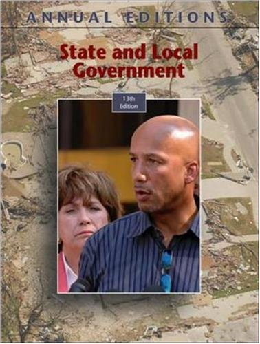 9780073397252: Annual Editions: State and Local Government, 13/e