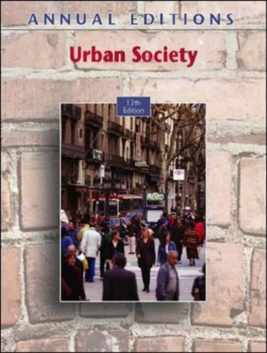 9780073397436: Annual Editions: Urban Society, 13/e