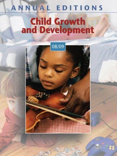9780073397535: Annual Editions: Child Growth and Development 08/09