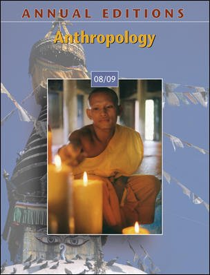 9780073397542: Annual Editions: Anthropology 08/09