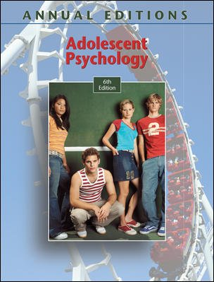 9780073397580: Adolescent Psychology, 6th Edition (Annual Editions)