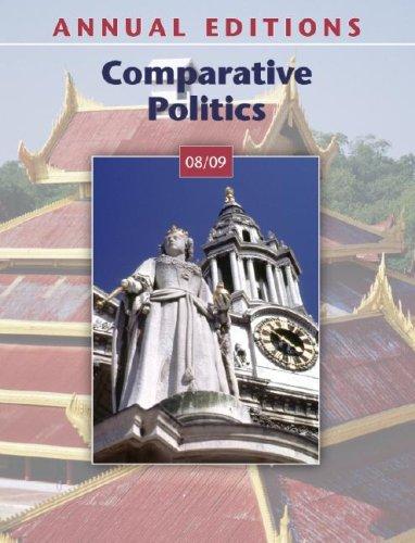 9780073397665: Annual Editions: Comparative Politics 08/09