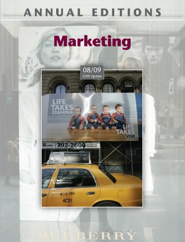 9780073397771: Annual Editions: Marketing 08/09 (2009 Update)