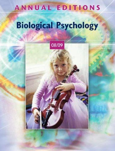 9780073397788: Annual Editions: Biological Psychology 08/09