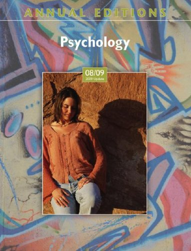 Annual Editions: Psychology 08/09 (2009 Update) (Annual: Karen G Duffy